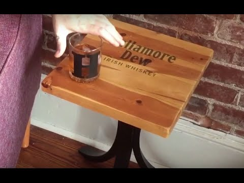 Whiskey Side Table