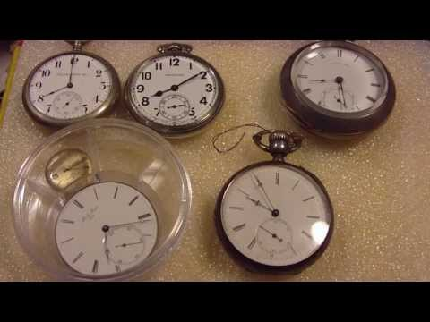 How to set/change time on a pocket watch