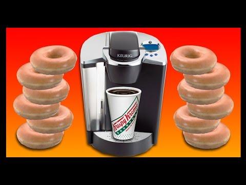 Keurig + Krispy Kreme!!! - Food Feeder