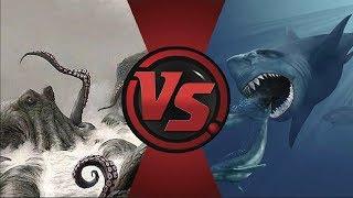 KRAKEN vs Megalodón... ¿Quién ganaría?