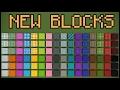 NEW MINECRAFT BUILDING BLOCKS! (Minecraft 1.12 Update)