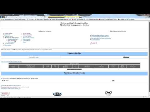 Create Mailing List in cPanel