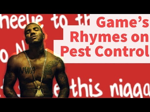 Rap Tips from Game's Pest Control- Rhyme Schemes Analysis