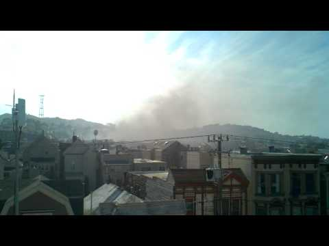 Fire in Mission near Capp & 19th