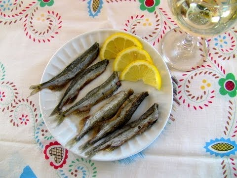 Capelin catching, curing and cooking