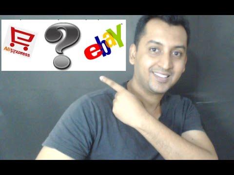 aliexpress or ebay safe online shopping