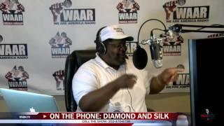 Diamond and Silk Call Wayne Dupree 8/25/16