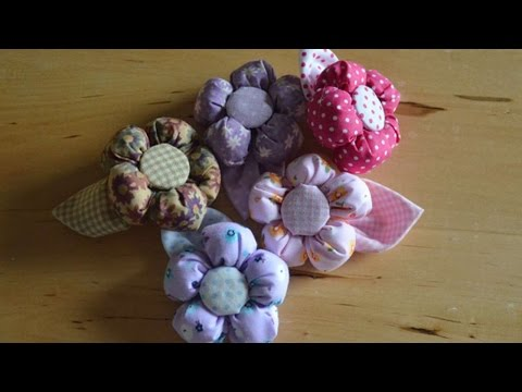 How To Make Stuffed Cloth Flowers - DIY Crafts Tutorial - Guidecentral