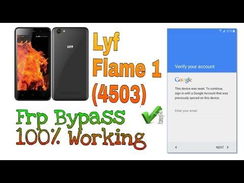 Lyf flame 1 frp bypass 100% working | LYF FLAME 1 LS 4503 FRP Reset