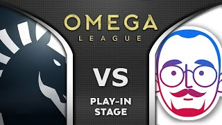 LIQUID vs 5MEN - PLAY-IN STAGE - OMEGA League Dota 2 Highlights 2020