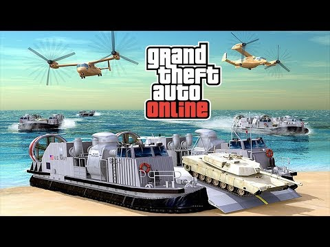 GTA Online DLC - Possible Luxury Yachts, Military Boats & Submarines (May Appear In The Future DLC)