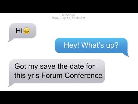 2015 Forum for the Future Conference Theme Release