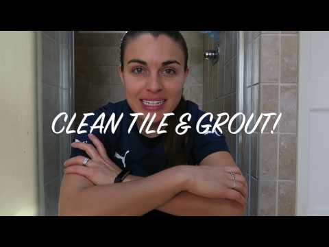SHOWER TILE & GROUT CLEANING - Naturally!