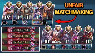 How To Win Even When You Get An Unfair Matchmaking | Mobile Legends
