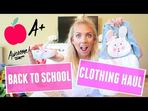 🎒 Back to School Clothing Haul | Toddler Girls 👧🏼