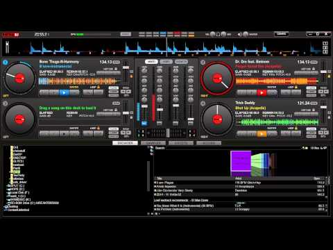 Instrumental and Acapella Mixing in Virtual DJ