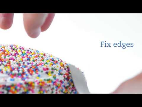 How to Decorate a Cake (with sprinkles!)