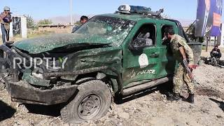 Download Afghanistan: At least 24 killed and 31 injured in Taliban attack at President Ghan's rally Video