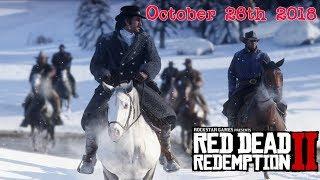 Red Dead Redemption 2 Delayed + New Screenshots Analysis