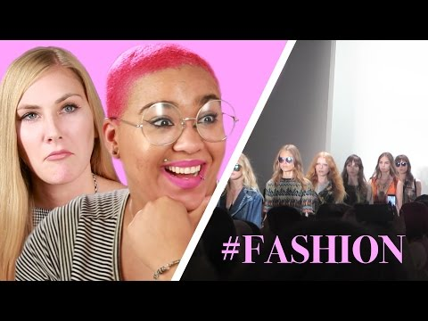 Regular People Go To Fashion Shows For The First Time