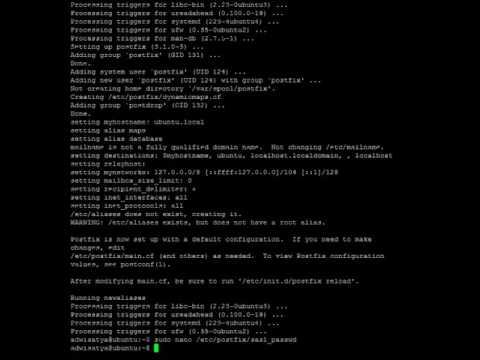 Setting Postfix to Use External SMTP on Ubuntu 16 04 LTS