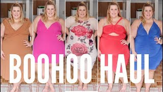 BooHoo Spring Plus Size Haul with Special Guest Star