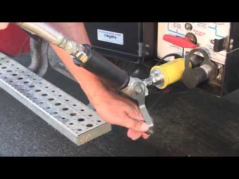 How to fuel a CNG truck