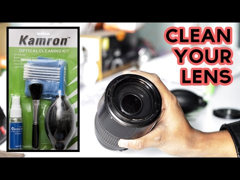 [Hindi] Optical Cleaning Kit For Camera Lenses - Unboxing and Review