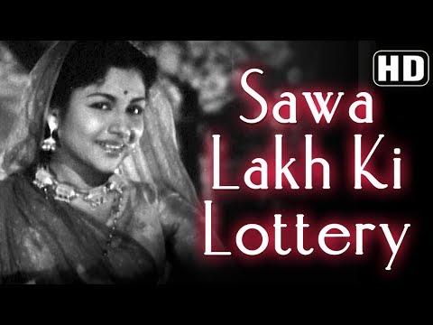Sawa Lakh Ki Lottery (HD) - Chori Chori (1956) - Bhagawan - Rajasulochana
