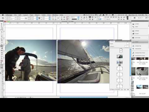 Creating a booklet in In-Design through Adobe Bridge