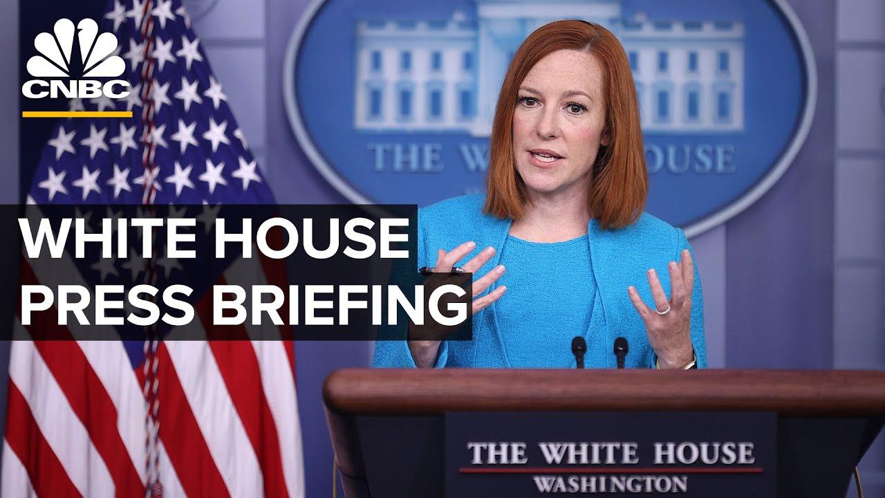LIVE: White House Press Secretary Jen Psaki, John Kerry and Gina McCarthy hold briefing — 4/22/21