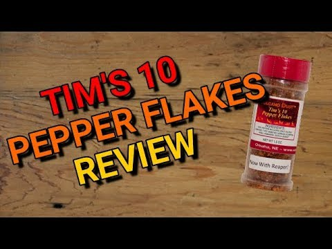 Volcanic Peppers: Tim's 10 Pepper Flakes Review