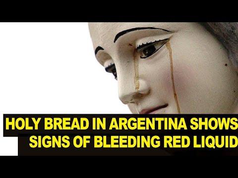 Church Investigates 'Miraculous' BLEEDING Bread'