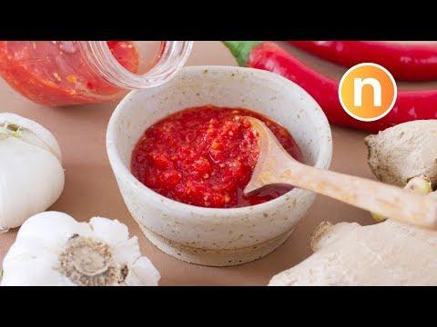 Raw Chilli Sauce | Cili Garam [Nyonya Cooking]