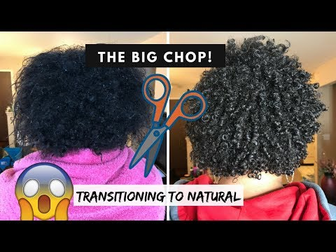 THE BIG CHOP! + Wash N Go Style | Natural Hair