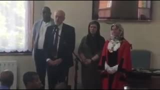 Jeremy Corbyn speaks to #FinsburyPark Mosque