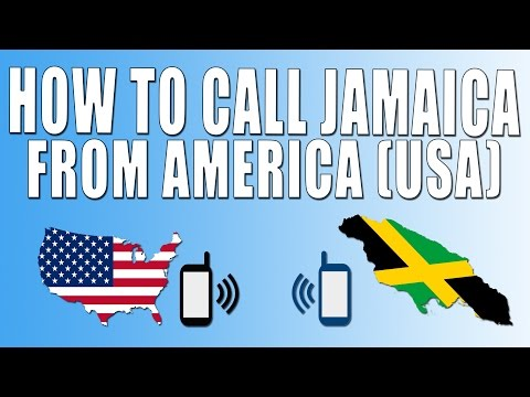 How To Call Jamaica From America (USA)