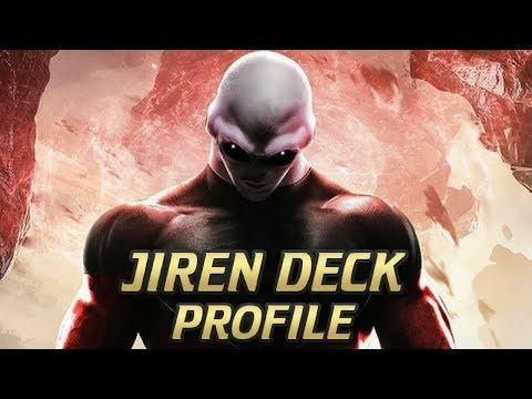 JIREN DECK PROFILE! DBS CARD GAME