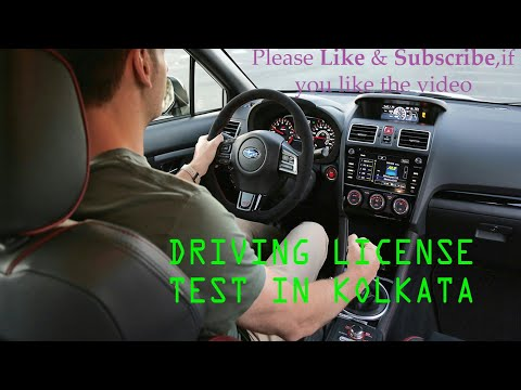 Car Driving License Test Kolkata