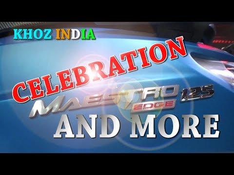 MAESTRO CELEBRATION/HERO TWO WHEELER LATEST UPDATES