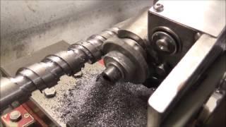 DIY machining a compression screw