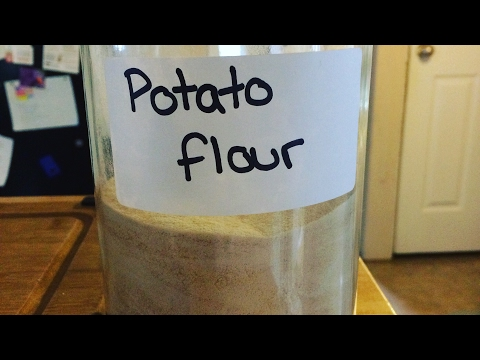 How to make Potato flour at home