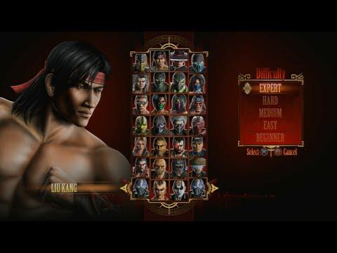 Mortal Kombat 9 - Expert Arcade Ladder (Liu Kang/3 Rounds/No Losses)