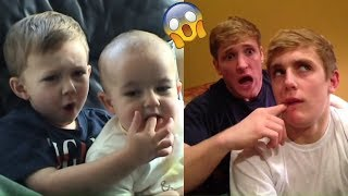 TRY NOT TO LAUGH - Funniest Jake Paul Vines and Videos Compilation * Impossible*