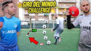 GIRO DEL MONDO Crossbar CHALLENGE - Zapinho fortuna o bravura??