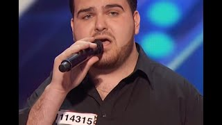 My Way - America's Got Talent - Sal Valentinetti - Golden Buzzer