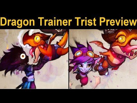 Dragon Trainer Lu... I mean Tristana - Riot Preview for New Legendary(?) Tristana Skin