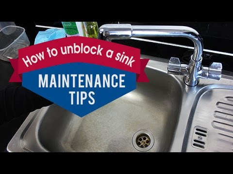 How to unblock a sink with vinegar, salt and baking soda