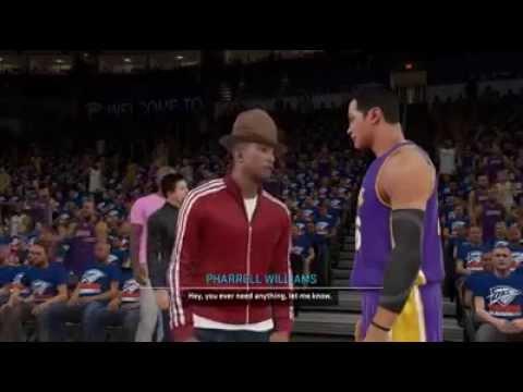 NBA 2K15 PS4 My Career - Pharrell is a Fan (2nd Visit, Gatorade/Sprite Info in Description) - S3