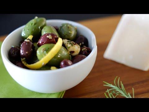 Marinated Mixed Olives